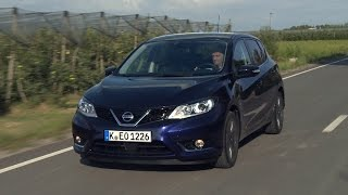 Nissan Pulsar road test - English subtitled