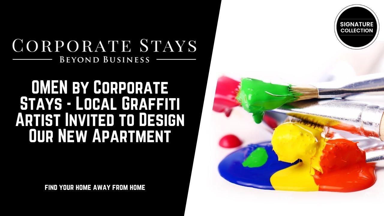 Local Graffiti Artist Invited To Design Our New Apartment