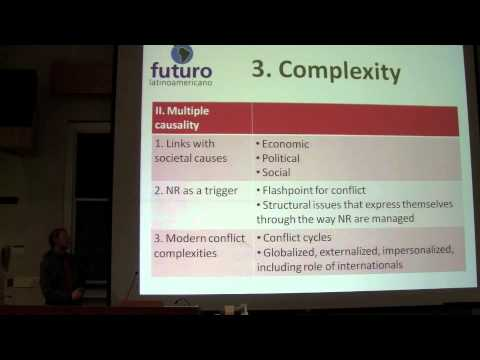 Sustainability and Conflict in the Developing World (Renard Sexston)