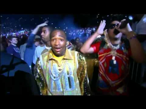 Adrien Broner ring entrance with French Montana [HD]