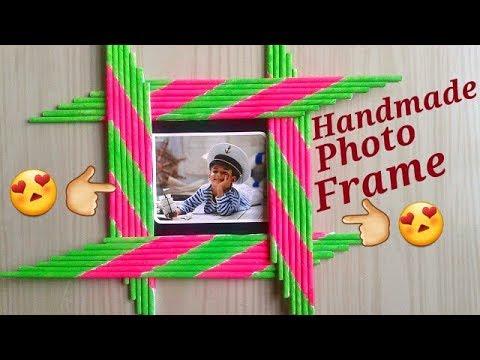 DIY Photo Frame | Photo frame decoration ideas | Photo Frame making at home