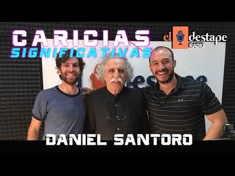 """""""El peronismo siempre queda como una memoria de felicidad"""" Daniel Santoro en Caricias Significativas"""