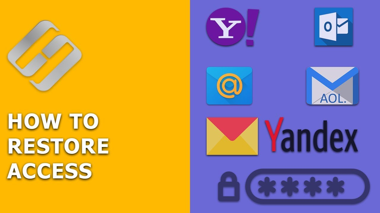 How to Restore Access to Gmail, Yahoo, AOL, ICloud, Outlook Mailbox without a Login and Password ???