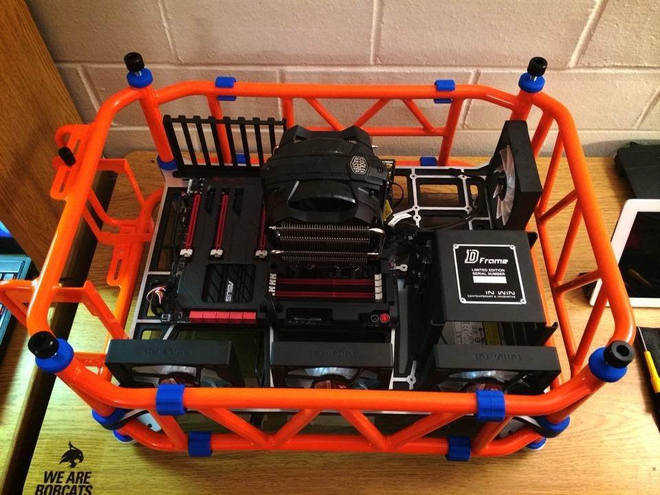 Pre-Build Video : In Win D-Frame, Asus Maximus VI Formula, Cooler ...