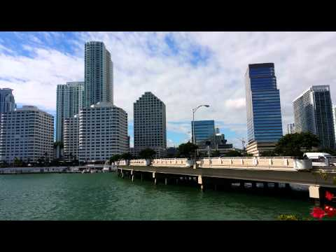 "Brickell Avenue and Brickell Key ""4k"" Ultra HD"