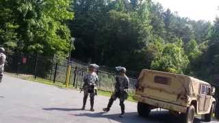 Nc National Guard Military Police Training For Martial Law