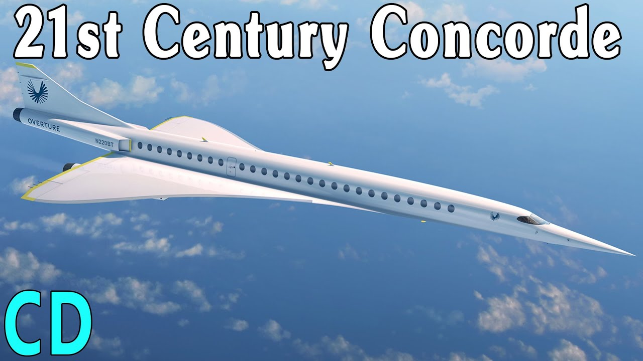 Concorde's Overture. Will We Have a New Supersonic Jet Soon? - Boom SuperSonic