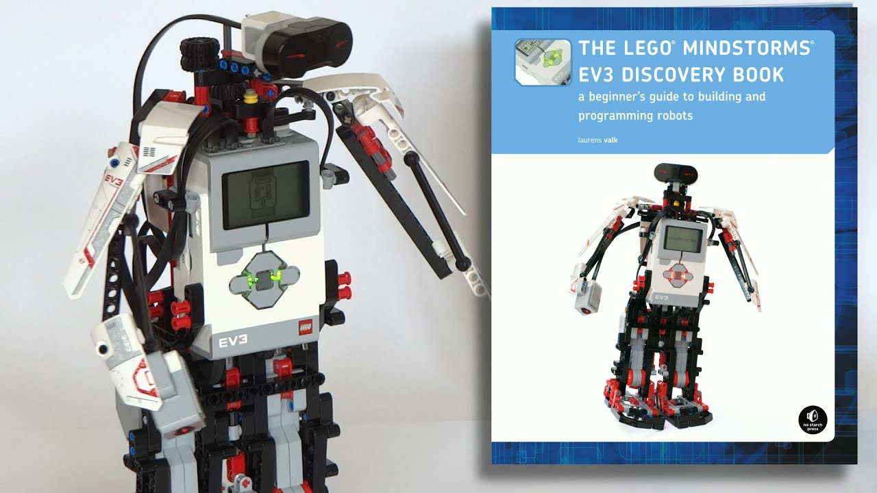 Introducing: The LEGO MINDSTORMS EV3 Discovery Book - YouTube