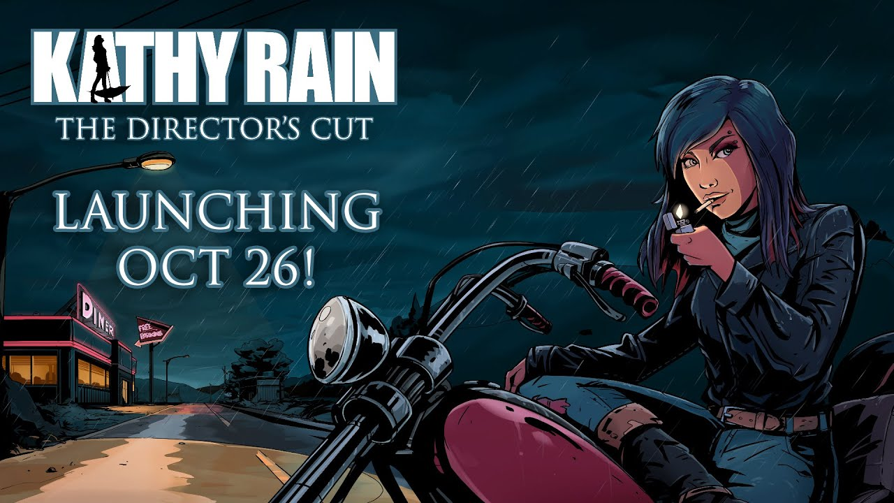 Kathy Rain is Launching on October 26th!