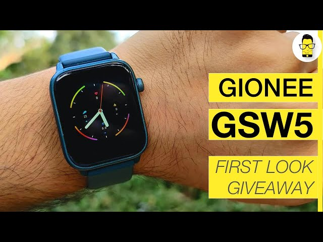 Gionee GSW5 SmartWatch Unboxing and First Impressions | Better than Realme Watch?
