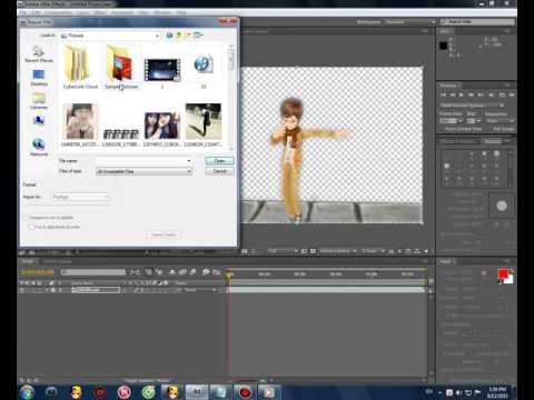 Hướng Dẫn Tách Nhân Vật Ra Khỏi Nền Adobe After Effects