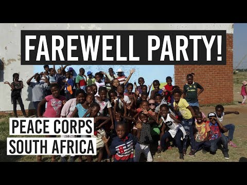 FAREWELL PARTY + CUTEST DANCING KIDS // Peace Corps South Africa