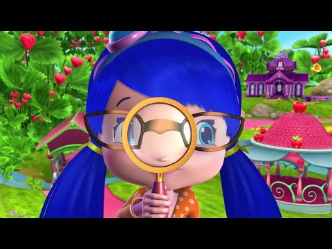 Strawberry Shortcake | Detective Blueberry | Cute Cartoons | Full Episode | WildBrain