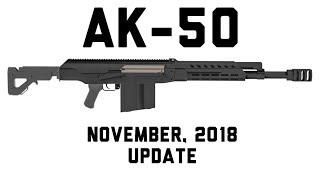 AK-50 Update - November 2018