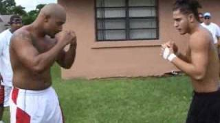 ray vs jorge rematch  kimbo fight