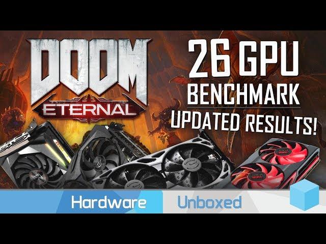 Doom Eternal, GPU Benchmark & Investigation, RDNA vs. Turing & More
