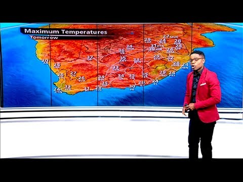 SA Weather | Sunday, 13 October 2019 | #SABCWeather