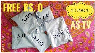 AJIO app loot offer Free shopping & unboxing screenshot 5
