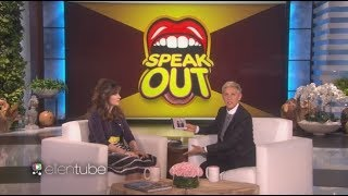 Best of celebrities playing Speak out on The Ellen Show part 1