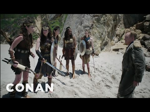 "Conan's ""Wonder Woman"" Cold Open  - CONAN On TBS"