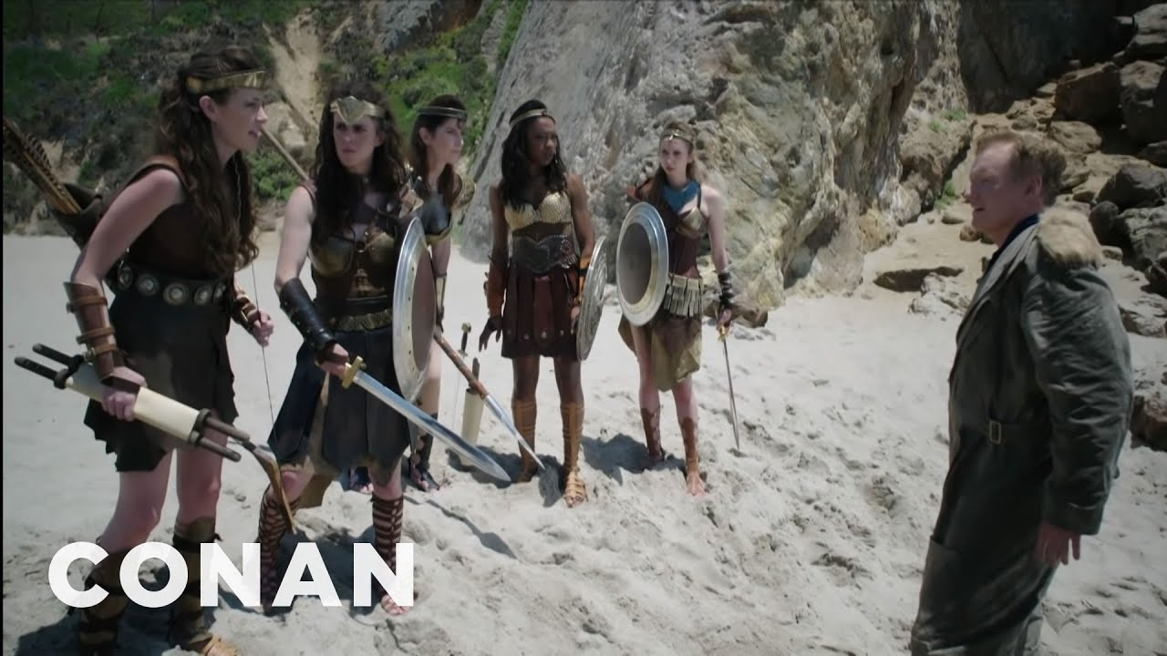 "Download Conan's ""Wonder Woman"" Cold Open   CONAN on TBS"