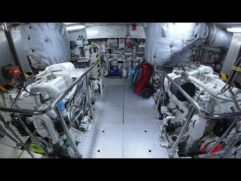 GOLDEN HORN Crew Area And Engine Room