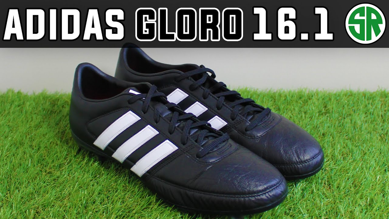 4dac3ab3e5d8 Check out the Black/White adidas Gloro 16.1 Cleats - YouTube