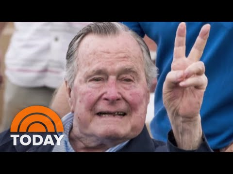 Former President George H.W. Bush Hospitalized With Blood Infection | TODAY