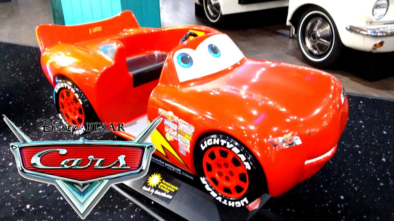 disney pixar cars lightning mcqueen ride on kids fast fun car electric