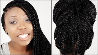 Box Braids START TO FINISH In 5 Minutes!!!(, 2015-09-16T22:00:00.000Z)