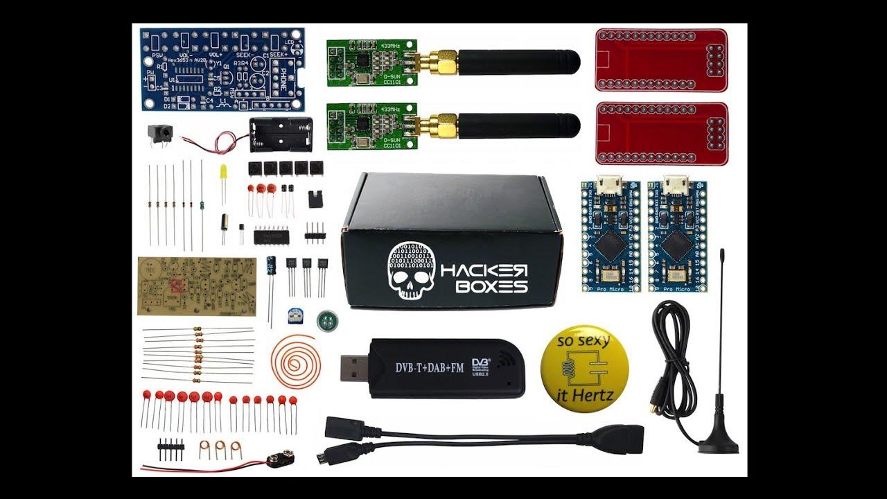 HackerBox 0034: SubGHz: 15 Steps