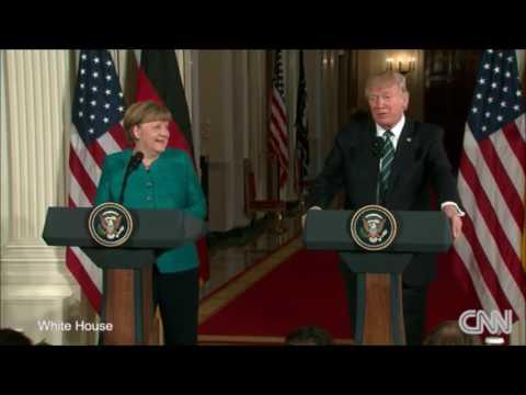 """Trump & Merkel """"have something in common perhaps"""", Tweets & ASK FOX WIRETAP"""