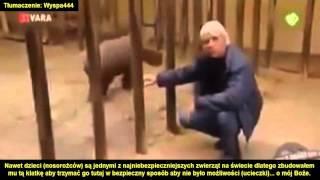 Małe nosorożce są bardzo niebezpieczne [PL]