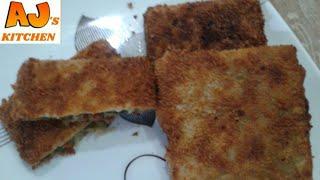 Crispy Vegetable box patties (Ramadan special)  make and freeze recipe for Ramazan  by Aj's kitchen.