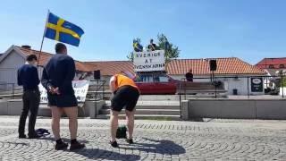 Nationaldagsfirande i Kungsbacka 2016