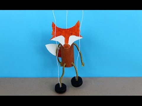 Fox Puppet Craft