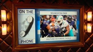 Miami Dolphins DE Ndamukong Suh Dials in to The RE Show - 12/19/16
