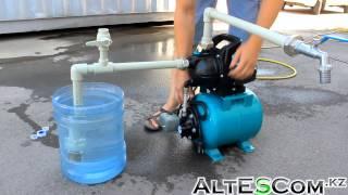 видео Как установить или заменить насосную станцию на даче