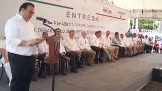 Inaugura JDO Carretera