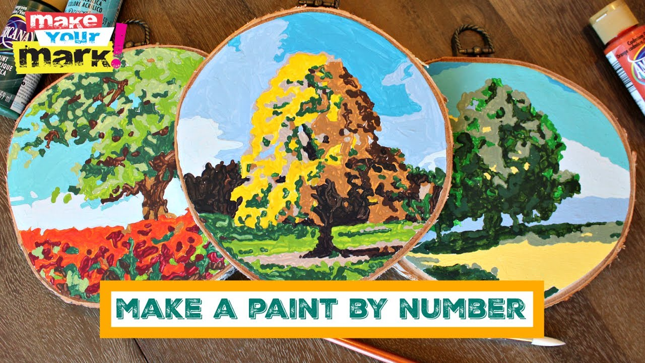 Make your own paint by number
