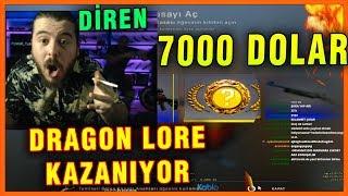 UNLOST TUVALETE GİDİYOR DİREN 7000 DOLAR DRAGON LORE KAZANIYOR