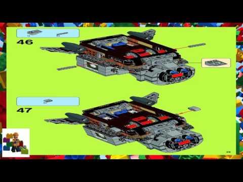 Lego Instructions Ninja Turtles 79121 Turtle Sub Undersea