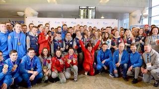 18 февраля в Москву из турецкого Эрзурума вернулась Олимпийская юношеская команда России.