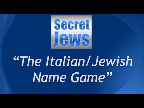 Rabbi Barbara Aiello-Secret Jews The Italian Jewish Name Game