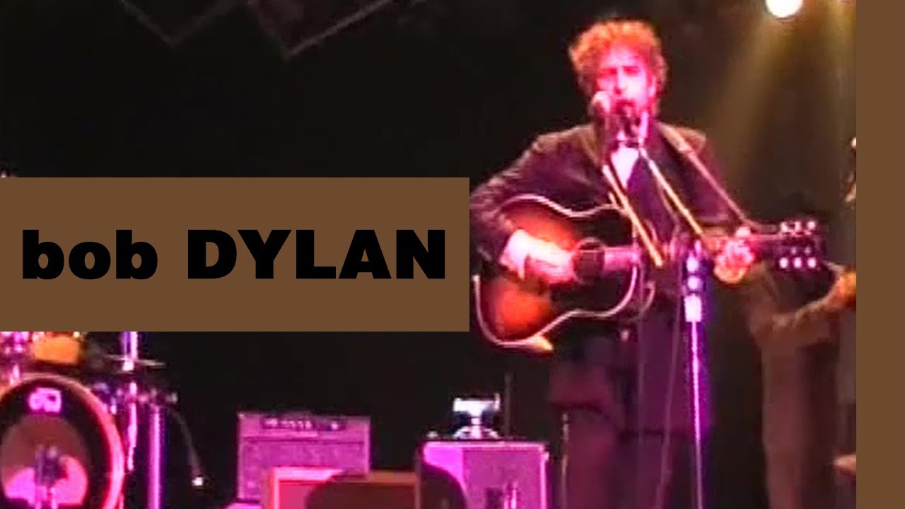 ~ Bob Dylan - Masters Of War (Manchester, June 25, 1998) ~