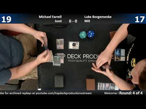 Modern w/ Commentary 7/18/17: Michael Farrell (Jund) vs. Luke Borgemenke (Mill)