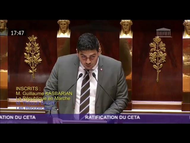 CETA - Discussion Générale - Séance publique - 17072019