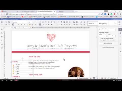 Edit Word Doc Online
