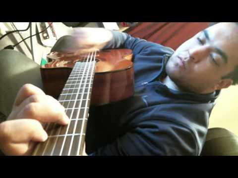 Video New Strung Chord Progression Am Dm E Am 10nov14