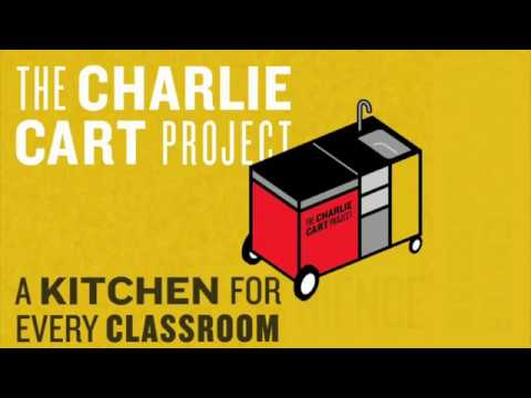 Meet The Charlie Cart, Imagine Nation's New Mobile Teaching Kitchen!